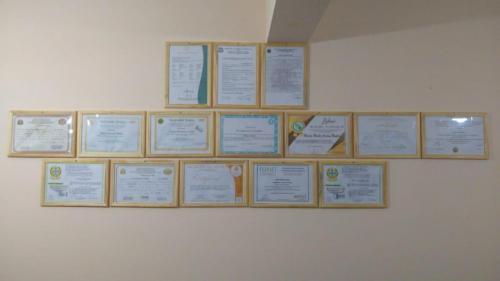 Mural de Certificados